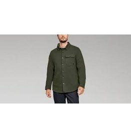 UNDER ARMOUR UNDER ARMOUR BUCKSHOT FLEECE BUTTON UP