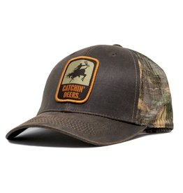 CATCHIN' DEERS CATCHIN' DEERS REALTREE CANVAS GIDDY HAT