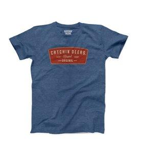 CATCHIN' DEERS CATCHIN' DEERS SS ORIGINAL PATCH-HEATHER VINTAGE BLUE