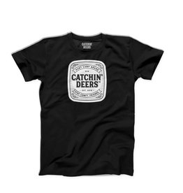 CATCHIN' DEERS CATCHIN' DEERS SS STAPLE TEE BLACK