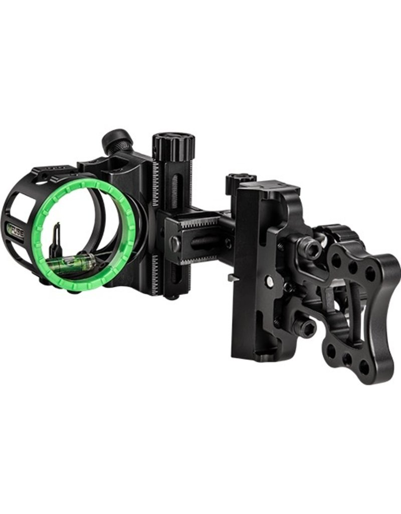 FUSE ARCHERY FUSE ARCHERY FLYWHEEL SLIDER 1 PIN SIGHT BLACK
