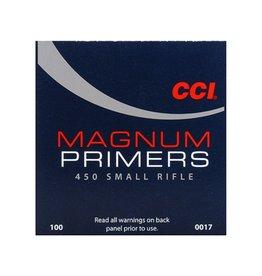 CCI CCI #450 SMALL RIFLE PRIMERS 100 PRIMERS