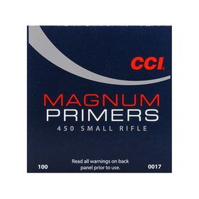 CCI CCI #450 SMALL RIFLE PRIMERS 100 PRIMERS