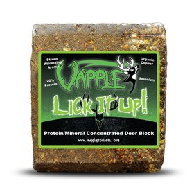 "VAPPLE ""LICK IT UP"" PROTEIN MINERAL CONCENTRATED BLOCK"