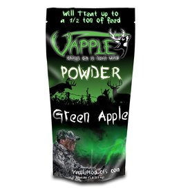 VAPPLE POWDER CORN ADDITIVE BAG GREEN APPLE 1LB