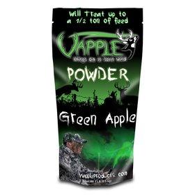 VAPPLE POWDER CORN ADDITIVE BAG GREEN APPLE 1LB