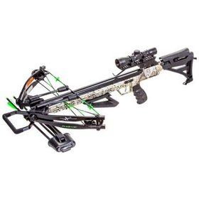 CARBON EXPRESS CARBON EXPRESS X-FORCE PILEDRIVER CROSSBOW KIT 390 FPS CAMO W/ CRANK