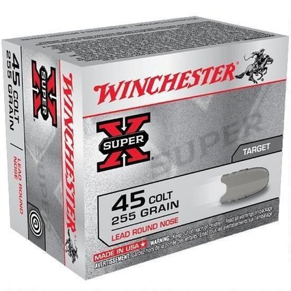 WINCHESTER WINCHESTER 45 COLT 255 GR TARGET 20 RDS