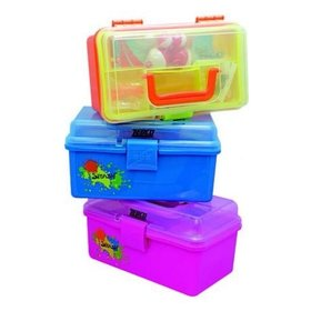 ZEBCO ZEBCO SPLASH TACKLE BOX ASSORTED COLORS