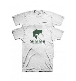SIMMS FISHING SIMMS BASS TOPO CAMO LOGO T-SHIRT
