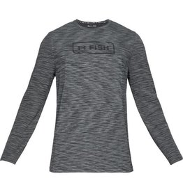 UNDER ARMOUR UNDER ARMOUR MEN'S SEAMLESS FISH HUNTER CREW LS