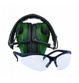 CALDWELL CALDWELL E-MAX LOW PROFILE HEARING PROTECTION W/ PRO RANGE GLASSES