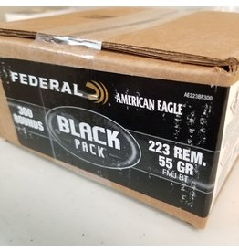 FEDERAL FEDERAL 223 REM 55GR FMJ 300 RDS