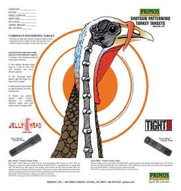 PRIMOS PRIMOS SHOTGUN PATTERNING TURKEY TARGETS 12 PK