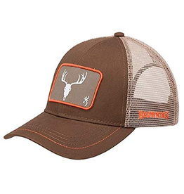 BROWNING BROWNING PAST TIME SKULL  CAP