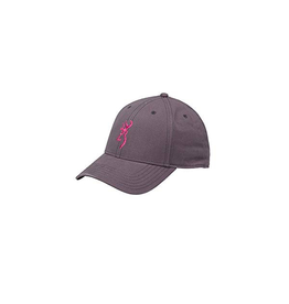 BROWNING BROWNING WOMEN'S AMBER CAP CHARCOAL/PINK