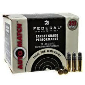 FEDERAL 22 LR AUTOMATCH BULK 325 PK CHAMPION