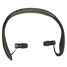 WALKER'S PRO EARS STEALTH 28 HEARING PROTECTION GREEN/ BLACK