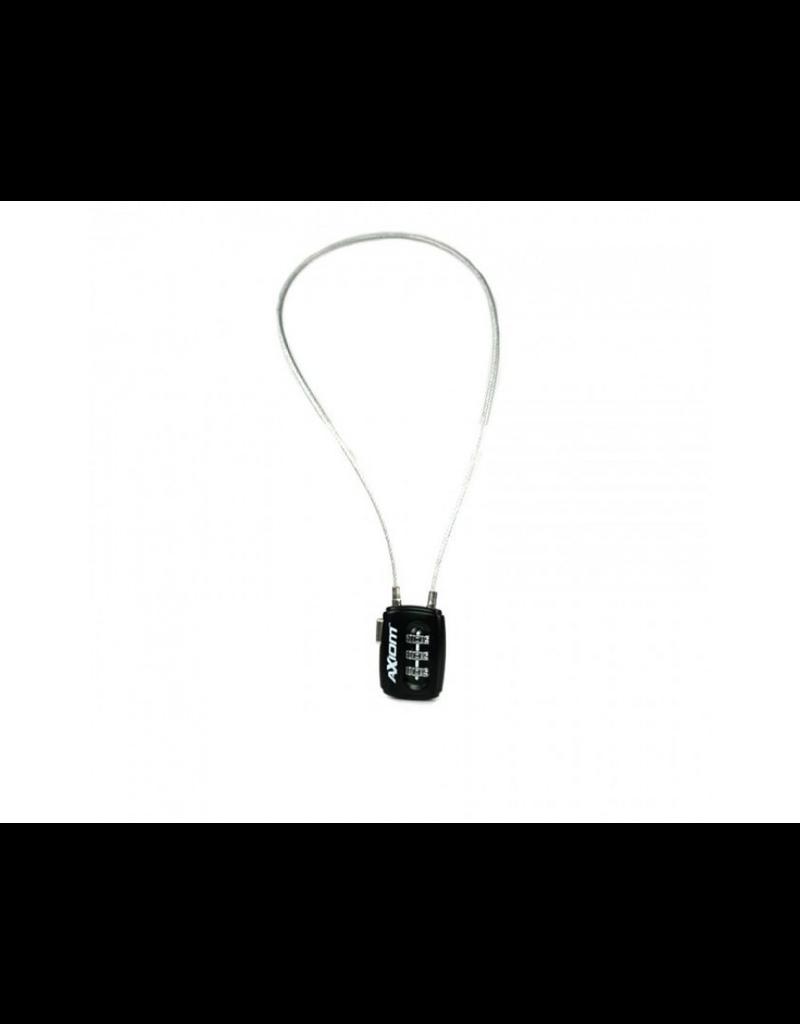KEYSTONE AXIOM COMBINATION CABLE LOCK 3O CM