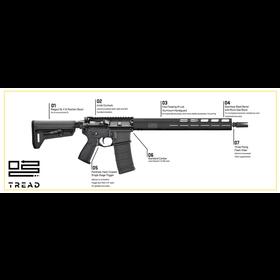 """SIG SAUER SIG SAUER M400 TREAD 5.56 NATO RIFLE 16"""""""