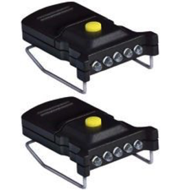 CYCLOPS CYCLOPS MINI LED HAT CLIP LIGHT MICRO 2PK