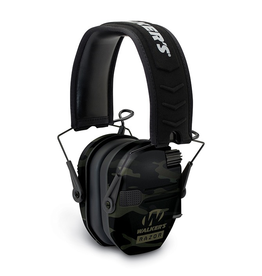 WALKER'S WALKER'S RAZOR SLIM ELECTRONIC MUFFS MULTICAM BLACK