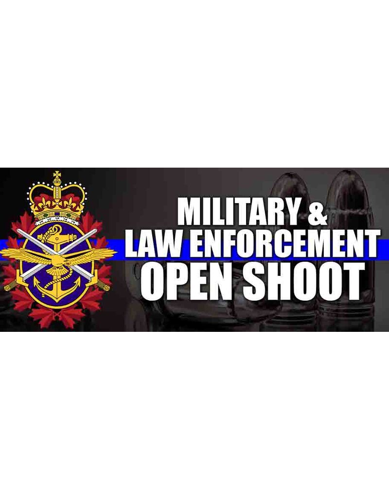 EASTHILL OUTDOORS EHO MILITARY/LAW ENFORCEMENT SHOOT - JULY 15
