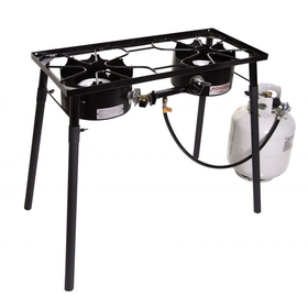 CAMP CHEF PIONEER TWO-BURNER STOVE