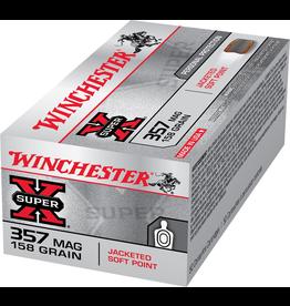 WINCHESTER WINCHESTER 357 MAG 158GR JSP SX
