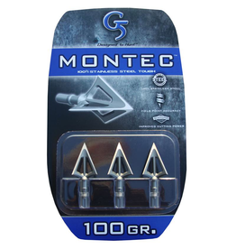 G5 OUTDOORS G5 MONTEC BROADHEAD 100GR 3PK