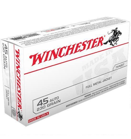 WINCHESTER WINCHESTER 45 ACP 230GR FMJ 500 RDS