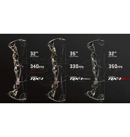 "HOYT CARBON RX-1 TURBO RH 60# 29"" (2# 26–28"") RT EDGE"