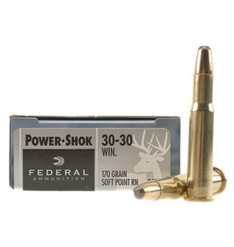 FEDERAL FEDERAL 30-30 WIN 170GR HI-SHOK SP FN 20 RDS