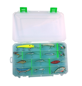 LURE LOCK LURE LOCK TACKLE BOX LLI-3101 3 CAVITY