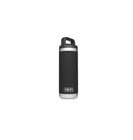YETI YETI RAMBLER 18 OZ BOTTLE BLACK
