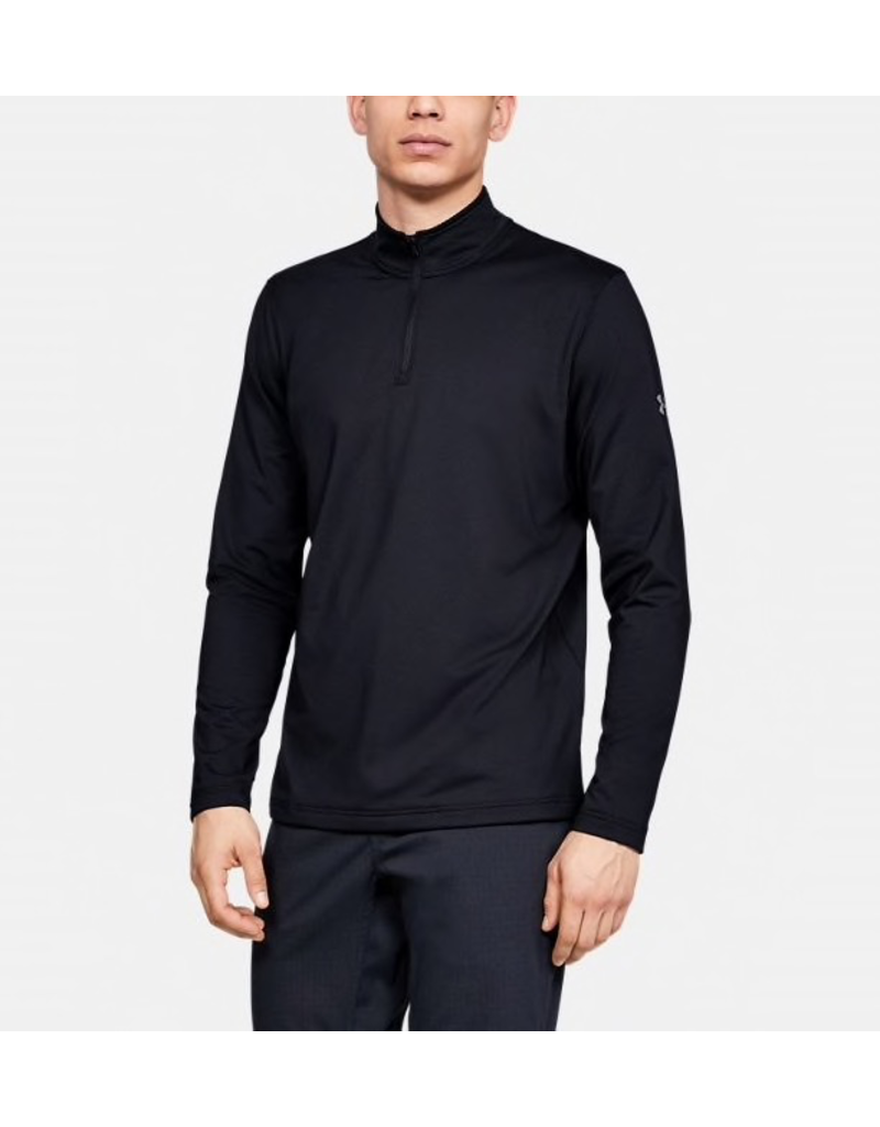 UNDER ARMOUR UNDER ARMOUR TACTICAL LONG SLEEVE 1/4 ZIP BLACK LG