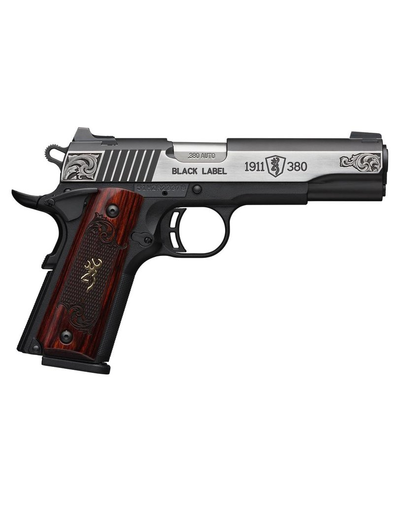 BROWNING BROWNING 1911-380 AUTO BLACK LABEL MEDALLION ENGRAVED