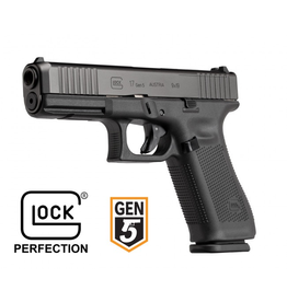 GLOCK GLOCK 17 GEN5 MOS 9MM 114MM BBL FIXED SIGHTS