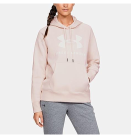 UNDER ARMOUR UNDER ARMOUR WOMENS RIVAL FLEECE SPORTSTYLE GRAPHIC HOODIE