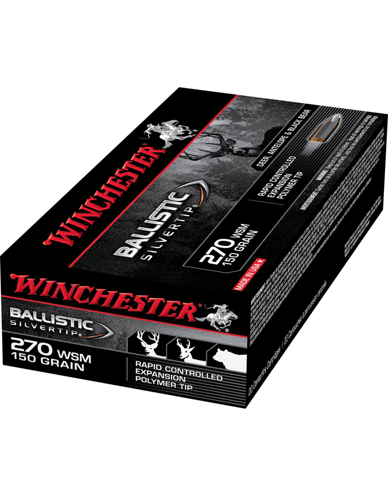 WINCHESTER WINCHESTER 270 WSM 150 GR BST 20 RDS