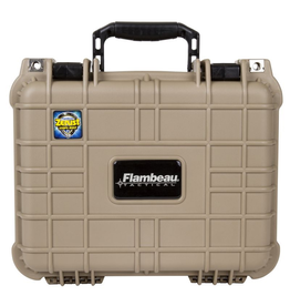 FLAMBEAU OUTDOORS FLAMBEAU HD SERIES CASE  DESERT TAN MEDIUM