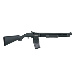 "MOSSBERG MOSSBERG 590M 12GA PUMP SHOTGUN 18.5"" W/ GHOST RING SIGHT AND HEAT SHIELD"