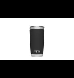 YETI YETI RAMBLER 20 OZ TUMBLER BLACK W/ MS LID
