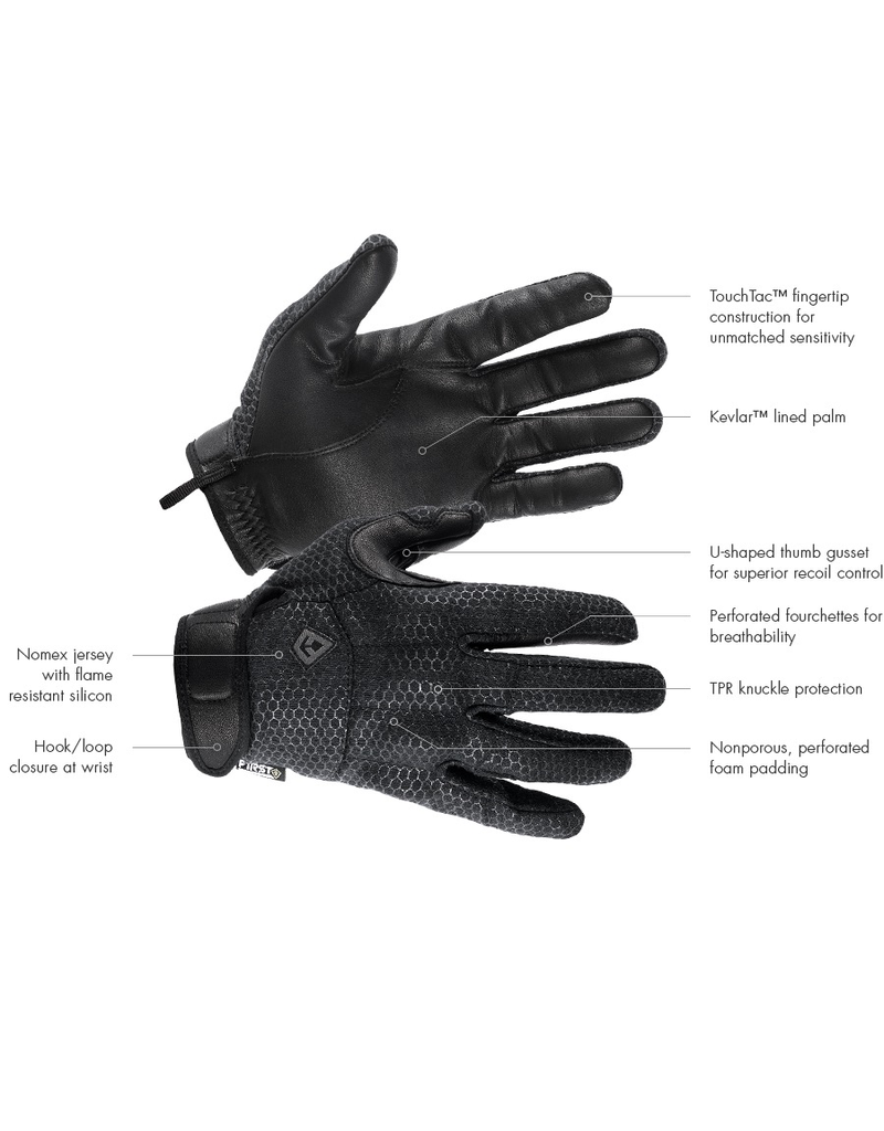 FIRST TACTICAL SLASH & FLASH HARD KNUCKLE GLOVE