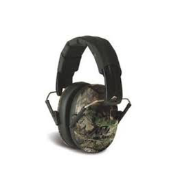 WALKER'S WALKER'S PRO LOW PROFILE PASSIVE FOLDING MUFFS CAMO