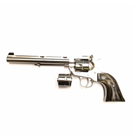 USED RUGER SINGLE SIX STAINLESS 22LR/ 22 WIN MAG