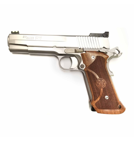 USED SIG SAUER TARGET 1911 STAINLESS 45ACP