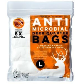 KOOLABUCK KOOLABUCK ANTI MICROB DEER QUARTER BAGS