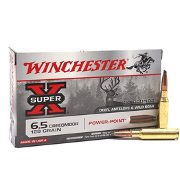 WINCHESTER WINCHESTER 6.5 CREEDMOOR 129GR 20 RDS