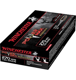 WINCHESTER WINCHESTER 270 WIN 130GR POWER MAX BONDED